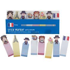 Vive La France Mini Memo Pads
