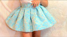 Como hacer falda midi. Revista patrones infantiles n º 4