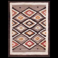#antique #Navajo #rug. Stock Id: #21498 General Rug Type:      American Specific Rug Type:      Navajo Circa: 1940 Color: Camel Origin: USA Width: 3' 4'' ( 101.6 cm ) Length: 4' 3'' ( 129.5 cm )