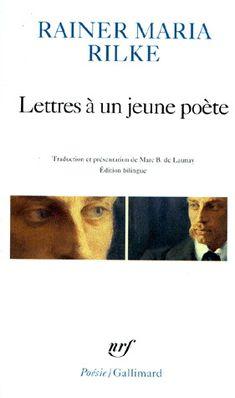 RILKE RAINER M - Lettres à un jeune poète - Poésie - Théatre - LIVRES - Renaud-Bray.com - Ma librairie coup de coeur