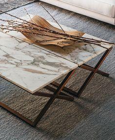 9500 - 32 Marble coffee table by Vibieffe design Gianluigi Landoni @vibieffe