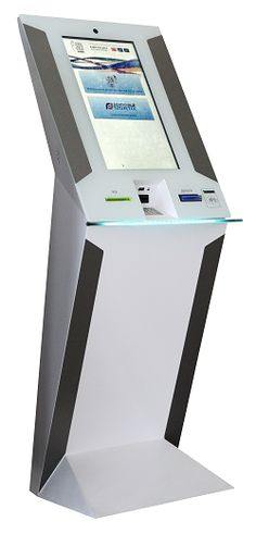 Touch Sensors Selected for Patient Self-Service Medical Kiosk E Kiosk, Info Kiosk, Information Kiosk, Pos Design, Signage Design, Stand Design, Display Design, Interactive Table, Interactive Installation