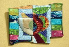 Simply Fruit: Mini Art Quilt@Judy Ferguson