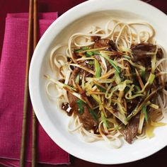 Beef Stir-Fry with Fresh and Pickled Ginger - http://www.foodandwine.com/recipes/beef-stir-fry-fresh-and-pickled-ginger