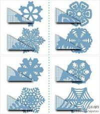 Intricate Paper Snowflake How-to Cute Crafts, Diy And Crafts, Crafts For Kids, Arts And Crafts, Paper Crafts, Christmas Time Is Here, Christmas Holidays, Christmas Snowflakes, Christmas Ornaments