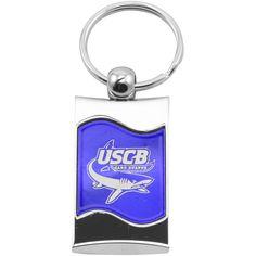 South Carolina Beaufort Sand Sharks Wave CD Effect Key Tag - $3.99