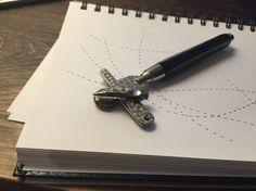 stylo-pointille
