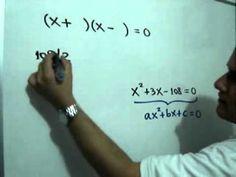 Problema geometrico con ecuacion cuadratica: Julio Rios explica la solución de un problema de geometría, que involucra una ecuación cuadrática y el uso del Teorema de Pitágoras
