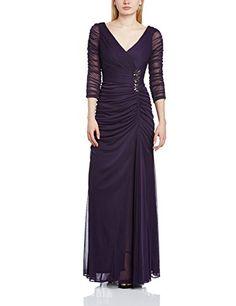 Adrianna Papell Damen Schlauch Kleid, Gr. 44, violett (Aubergine)  http://www.damenfashion.net/shop/adrianna-papell-damen-schlauch-kleid-gr-44-violettaubergine/