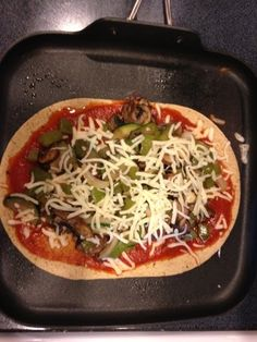 Grilled pizza - 5.2 Weight Watchers points plus