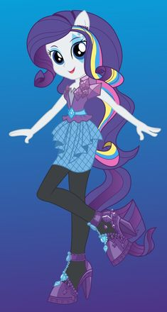 Rarity by ZoeVulpez on deviantART -- Sister Bear has requested this hairstyle.