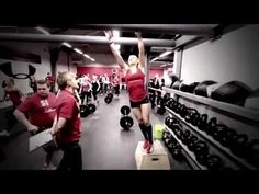 CrossFit Annie Thorisdottir - Icelandic National Championships.wmv
