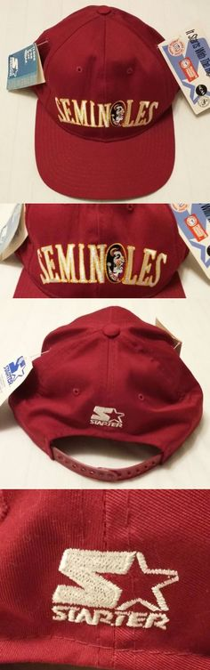 62222aa892787 Mens Hats 163619  Nwt Men S Vintage Starter F.L. St. Seminoles Snap Back Hat  ~New W Tags~ -  BUY IT NOW ONLY   49.95 on eBay!
