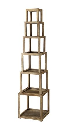 Towered Shelves