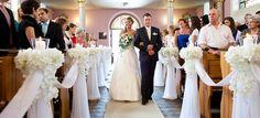 decoracion iglesia para boda - Buscar con Google