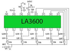 5 Channel Equalizer LA3600 [updated] ,One type of preamp tone / tone controls are the Audio Graphic Equalizer.
