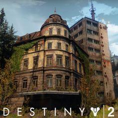 Destiny 2 - EDZ Modular Architecture , Ethan Scheu on ArtStation at https://www.artstation.com/artwork/kW3nl