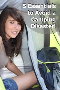 Check out these 5 critical items to avoid a camping disaster!  http://blog.getnorthbound.com/blog/5-items-to-avoid-camping-disasters