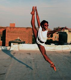 "Michaela Deprince in the documentary ""First Position""."