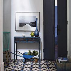 Victorian-style floor tiles