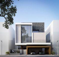 Modern house decoration style: best modern villa design ideas on pinter Architecture Design, Residential Architecture, Contemporary Architecture, Cubist Architecture, Minimalist Architecture, Architecture Awards, Architecture Interiors, Amazing Architecture, Contemporary Interior