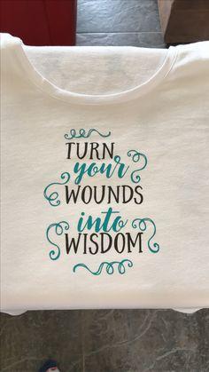 Quote op t-shirt (Flex) (2017)