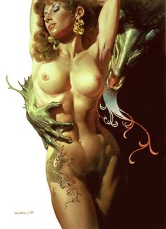 Fantasy art prints from Boris Vallejo and Julie Bell Boris Vallejo, Julie Bell, Fantasy Women, Fantasy Girl, Bell Art, Luis Royo, Psy Art, Fantastic Art, Awesome