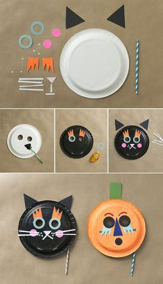 Easy Diy and Awesome Last Minute Halloween Costume Be A Concept Of Paper Plate Ghost Crafts Halloween. Easy Diy and Awesome Last Minute Halloween Costume Be A Concept Of Paper Plate Ghost Crafts Halloween. Paper Plate Masks, Paper Plate Art, Paper Plate Crafts For Kids, Animal Crafts For Kids, Paper Plates, Paper Crafts, Halloween Kostüm Baby, Fete Halloween, Last Minute Halloween Costumes