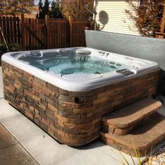 Charmant From Hot Spring Spas · Vanguard With Stone Surround