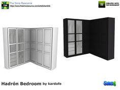 Ikea Pax series cabinet, two color options  Found in TSR Category 'Sims 4 Bookshelves'