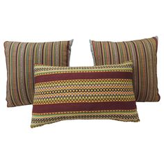 Vintage Turkish Colorful Pillows | From a unique collection of antique and modern pillows and throws at https://www.1stdibs.com/furniture/more-furniture-collectibles/pillows-throws/