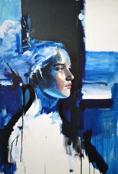 "Saatchi Online Artist: max gasparini; Acrylic, 2009, Painting ""unknow terrain"""