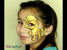 My Little Pony, Apple Jack, face painting eye design