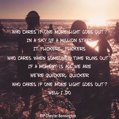 "Lyric Edits — ""One More Light"" - Linkin Park"
