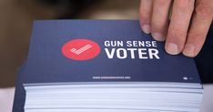 "Gun Sense Voter ~ Sign the pledge:  ""I pledge to support local, state and federal candidates who will fight for common-sense laws to reduce gun violence."""