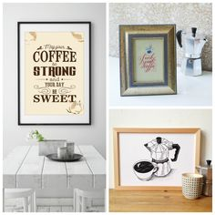 The Picture Garden: Austrian Etsy . needs a cup of coffee! Coffee Art, Coffee Cups, Gallery Wall, Garden, Etsy, Home Decor, Coffee Artwork, Homemade Home Decor, Coffee Mugs