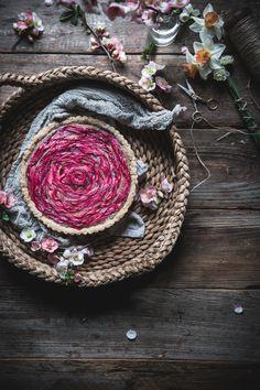 Rhubarb tart