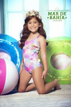 Mar de Rosas 2016 Luxury Children's Swimwear | Mar de Bahia
