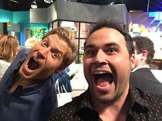 Chris and Miquel