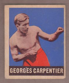 1948 Leaf Boxing Georges Carpentier