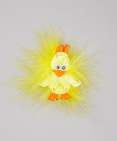 Take a look at this Furry Chick Clip by Three Bears Hair Bows on #zulily today!