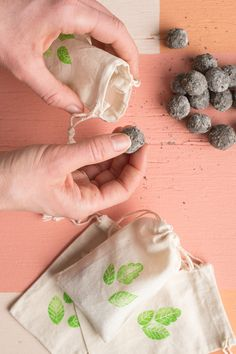 Fill your world with flowers – and create a honey bee-friendly habitat while you're at it – with this fun and easy project. Wildflower seed bombs are easy to create, and when gifted in hand-stamped muslin pouches they make great favors for weddings and parties. Using a few simple ingredients and your own two hands, we'll show you how to whip up a batch of seed bombs, then you can multiply the recipe to make even more. Once they're dry, scatter them in your garden or gift to loved ones with…