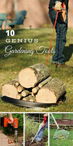 Genius gardening tools that were made by gardeners for gardeners. These tools will help you garden better, easier, and smarter.