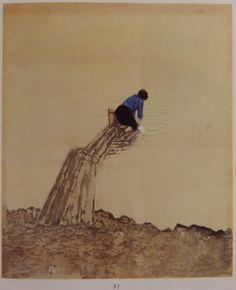 Onchi Koshiro  Round Ripple  #49    Helen & Felix Juda collection    Christies Auction   22 April 1998