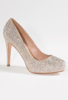 Fully Sparkle Pump with Stones from Camille La Vie