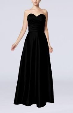Sweetheart Elegant Evening Gown - Order Link: http://www.theweddingdresses.com/sweetheart-elegant-evening-gown-twdn6789.html - Embellishments: Ruching; Length: Floor Length; Fabric: Elastic Satin; Waist: Natural - Price: 112.99USD