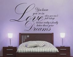 Love Better than Dreams - Dr Suess Wall Decal