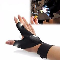 Fishing Apparels - Zanlure Multifunctional Edc Fishing Fingerless Glove Led Repair Flashlight Survival Outdoor Rescue Tool - Fishing Fingerless Gloves For Men Camping - Waterproof Hiking - - Personal Tools Products Library Led Gloves, Work Gloves, Safety Gloves, Luz Flash, Fishing Gloves, Waterproof Gloves, Outdoor Tools, Outdoor Gear, Outdoor Camping