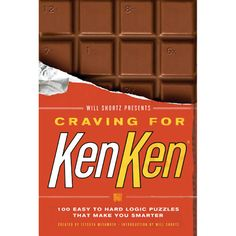 Will Shortz Presents Craving for KenKen Book: KenKen is known around the world as a fun and wildly addictive game but did you know that it was originally created as a teaching tool to hone math, logic, and reasoning skills? So grab a pencil and enjoy this fun way to strengthen your mind!  $3.99  http://calendars.com/Word-Games-and-Puzzle-Calendars/Will-Shortz-Presents-Craving-for-KenKen-Book/prod201300012203/?categoryId=cat130008=cat130008#