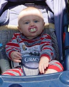Redneck baby pacifier-I'm totally getting my future children these Funny Baby Photos, Baby Images, Funny Pictures, Teeth Pictures, Redneck Baby, Redneck Humor, Funny Babies, Funny Kids, Cute Babies